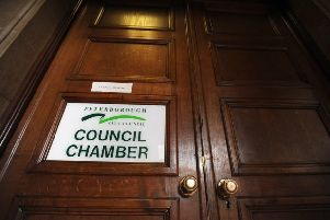 The Council Chamber at Peterborough Town Hall