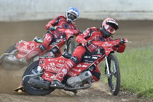 Scott Nicholls top scored for Panthers at Poole.