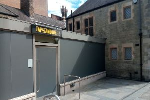 Opening soon - Tap and Tandoor in Cumbergate, Peterborough city centre
