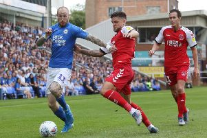 Marcus Maddison should be back in action for Posh against Ipswich.