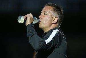 Peterborough United manager Darren Ferguson.