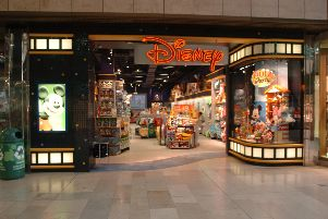 The former Disney store in Queensgate
