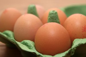 A small bath of eggs may have been infected with salmonella. (Photo: Shutterstock)
