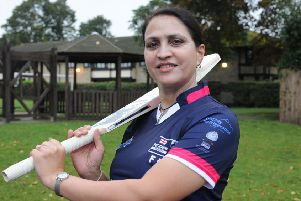 Farida Choudhary is ready to represent England in South Africa. Photo: David Lowndes.