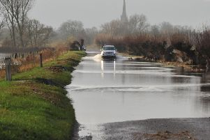 There has been heavy rainfall in Peterborough and Lincolnshire