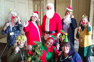 The team at Sue Ryder are gearing up for the Christmas Fayre