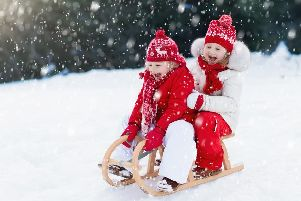 Everything looks a bit more festive with a little bit of snow. Picture: Shutterstock