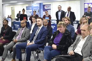 Guests at the BBH Business Expo launch.  EMN-191016-144712009