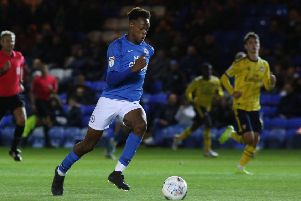 Ricky-Jade Jones is set to make his first-team debut for Posh against Cambridge United.