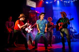 Gareth Gates in Footloose The Musical.