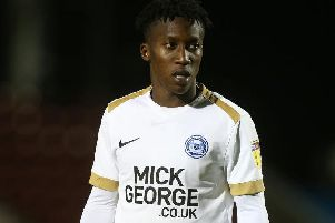 Siriki Dembele is set to start for Peterborough United against Ipswich Town on Wednesday night