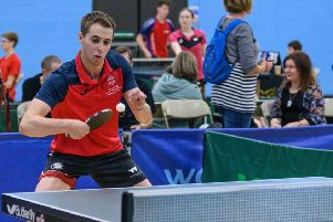 Top-class table tennis action is available in Peterborough on Saturday.