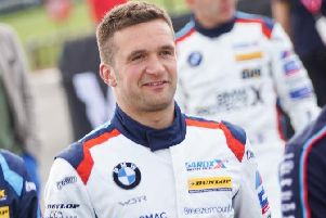 Portadown racing star Colin Turkington