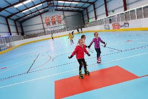 The Rink which is located on the outskirts of Portadown has received an investment of �250,000 which has allowed for a significant upgrade of facilities