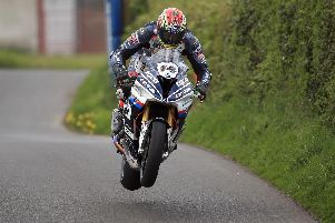 Dan Kneen on the Tyco BMW.
