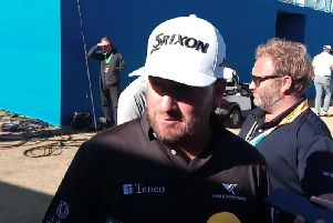 Graeme McDowell after his second round on the Irish Open