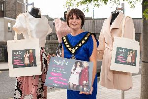 Lord Mayor Councillor Julie Flaherty launches Stylefest 2018. Armagh City, Banbridge and Craigavon Borough Council, will host a series of fabulous fashion and beauty events.