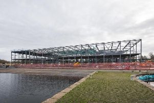 Craigavon Leisure Centre progressing well