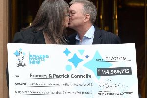 Frances and Patrick Donnelly.