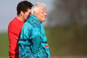 Call to wear club, county or team colours at funeral of John Morrison.