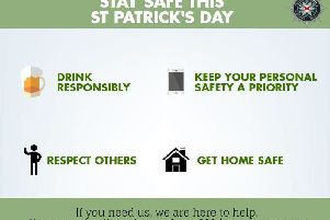 Police appeal for safe St Patrick's Day