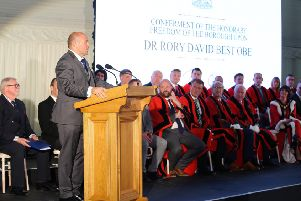 Rory Best pictured at the Archbishop's Palace in Armagh