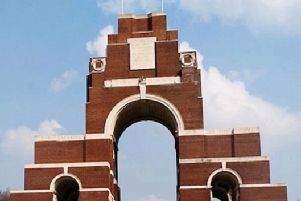 BREATHTAKING The magnificent memorial built at Thiepval on the Somme. It has the names of 72,246 missing British and South African names inscribed on its 16 brick piers.