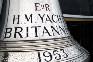 The bell of The Royal Yacht Britannia
