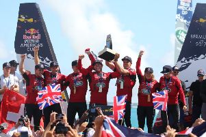 Land Rover BAR Academy win the Youth America's Cup'Picture: Land Rover BAR