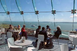 Cafe in the Clouds: Spinnaker Tower, Portsmouth, PO1 3TT. Picture: Google Maps