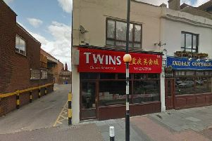 Twins Chinese: 255 Albert Road, Southsea, PO4 0JR. Picture: Google Maps