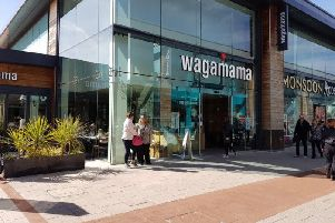 Wagamama: Whiteley Village, Whiteley Way, Fareham, PO15 7PD. Picture: Google Maps