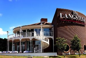 Brasserie at The Langstone Hotel: Northney Road, Hayling Island, PO11 0NQ