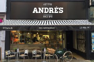 Andre's Food Bar: 54 Osborne Road, Southsea, PO5 3LU