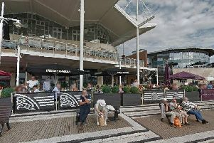 Pizza Express: Gunwharf Quays, Portsmouth, PO1 3TA. Picture: Google Maps