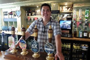 Chef Rob Stothard at the Fighting Cocks pub in Gosport