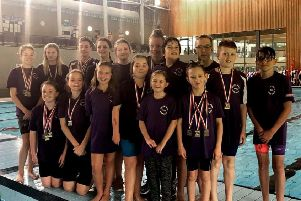 Locks Heath talents at the Portsmouth First Chance meet