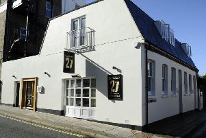 Restaurant 27 at Southsea has been voted number one in Hampshire on Trip Advisor
