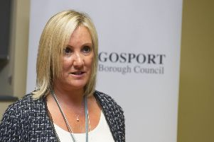 Gosport MP Caroline Dinenage.''Picture: Steve Reid