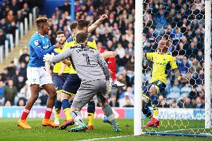 Kal Naismith opened the scoring for Pompey in the fourth minute