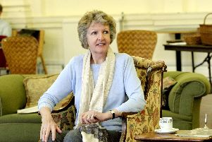Penelope Keith in rehearsal for The Chalk Garden at Chichester Festival Theatre, May/June 2018. Picture by Catherine Ashmore.