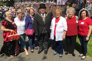 Eastney Community Centre Royal Wedding Party 2018  Organisers with the Lord Mayor