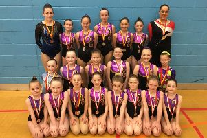 Suki gymnasts who starred in the competition on Saturdays