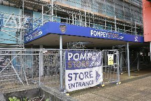 Pompey's shop in Fratton Way has now closed.