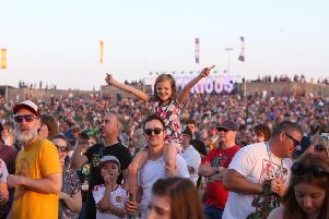 Crowds at Victorious Festival 2017