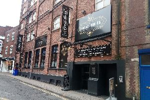 The Blind Tiger, Spring Street, Landport, Portsmouth, and, below, the Detective's fry-up.