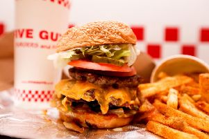 Date revealed for opening of new Five Guys restaurant in Portsmouth