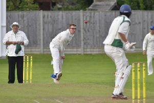 Sam Robinson took five wickets to clinch victory for Bedhampton. Picture: Neil Marshall