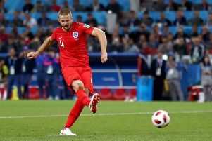 Eric Dier sends England through to the World Cup quarter finals by converting a penalty against Colombia