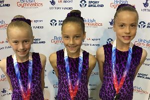 Suki gymnasts were in superb form at the British Championships